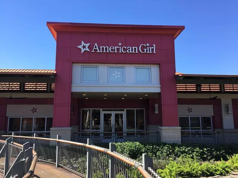 American Girl shop at The Falls - photo by Phillip Pessar under CC BY 2.0