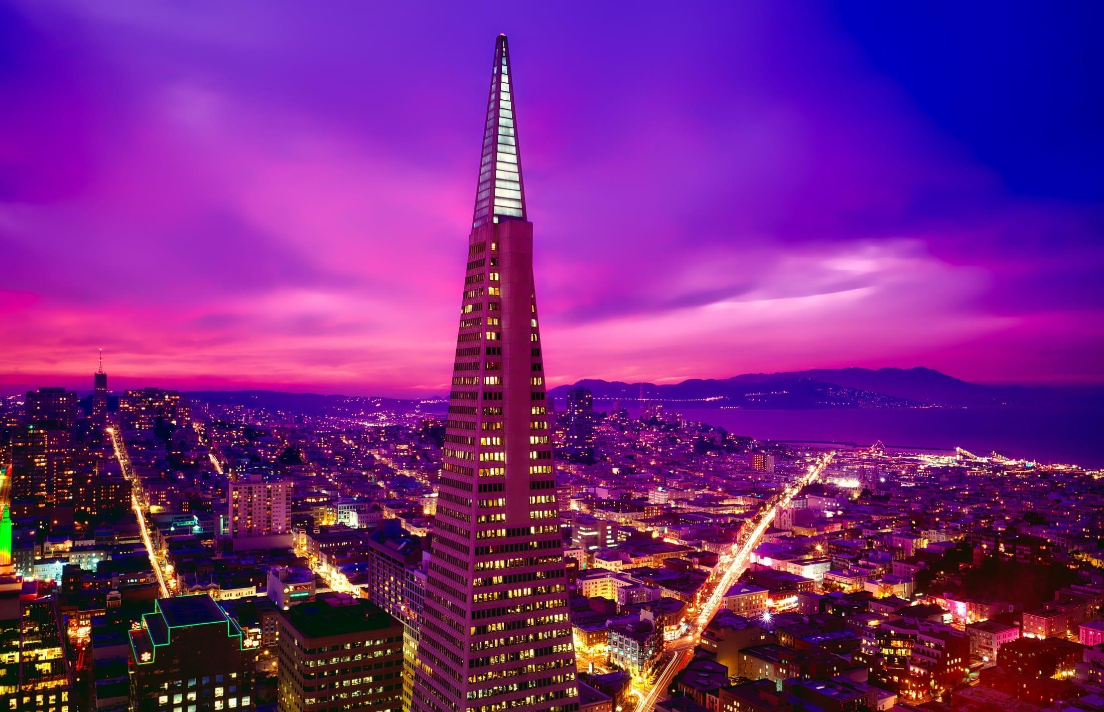 San Francisco Transamerica Pyramid - photo by Pikrepo under CC0