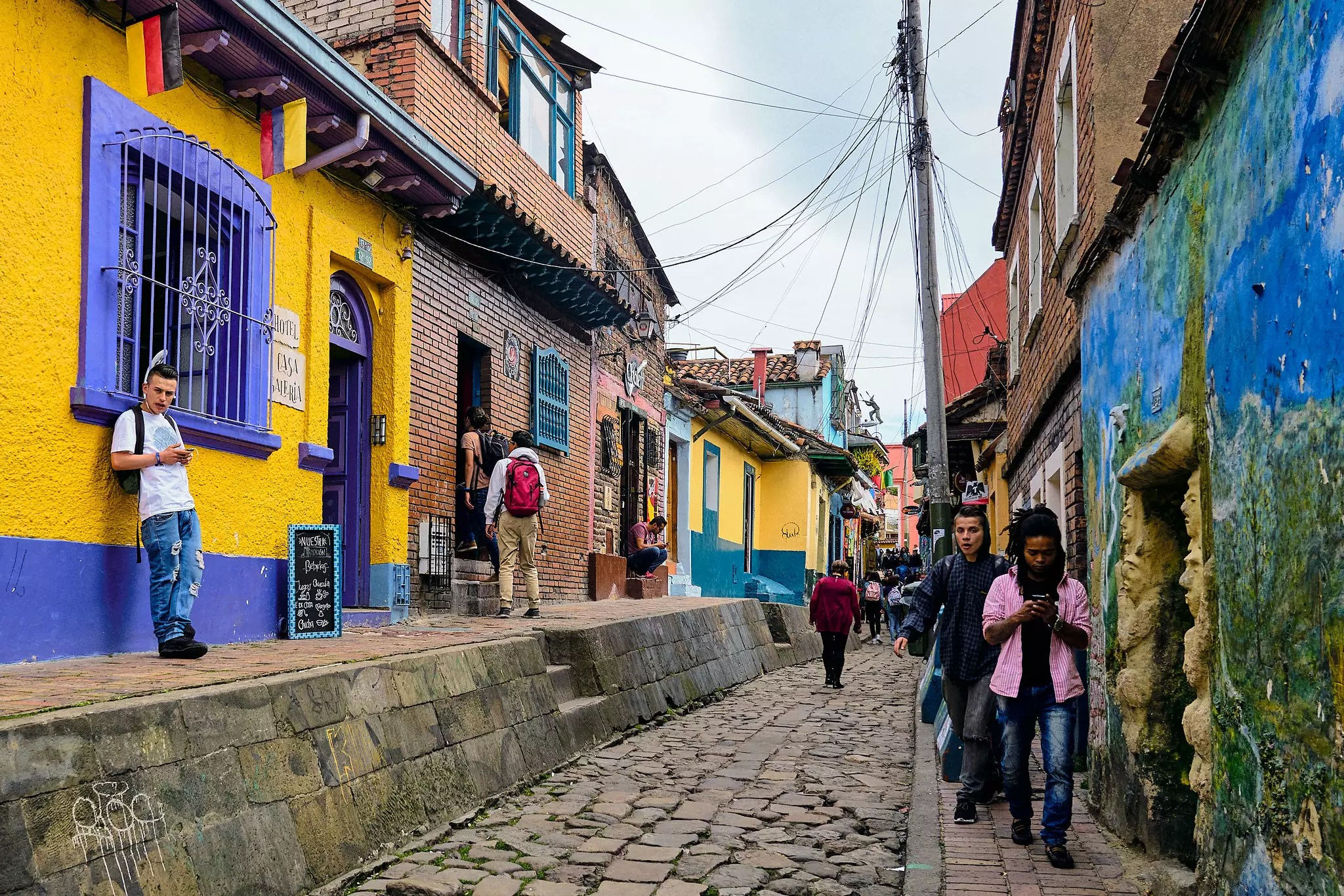 Bogota, Colombia - photo by Pedro Szekely under CC BY-SA 2.0
