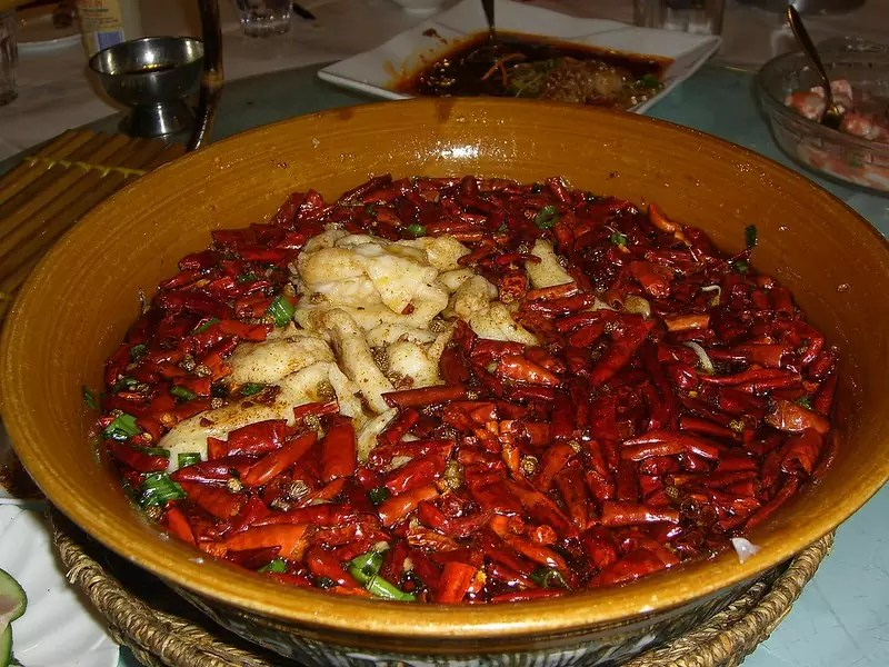 Anthony Bourdain Chicago - Spicy Fish Hotpot - photo by Alpha under CC BY-SA 2.0