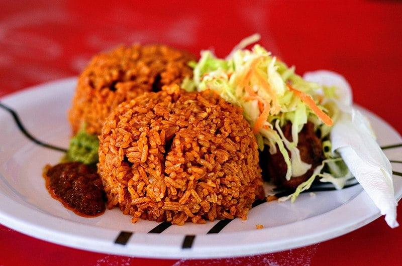 Jollof Rice - photo by Noahalorwu under CC-BY-SA-4.0