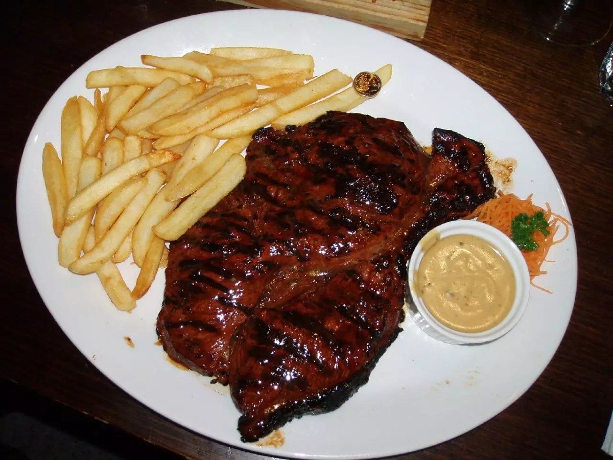 Popeseye Steak - photo by Charlie Brewer under CC BY-SA 2.0