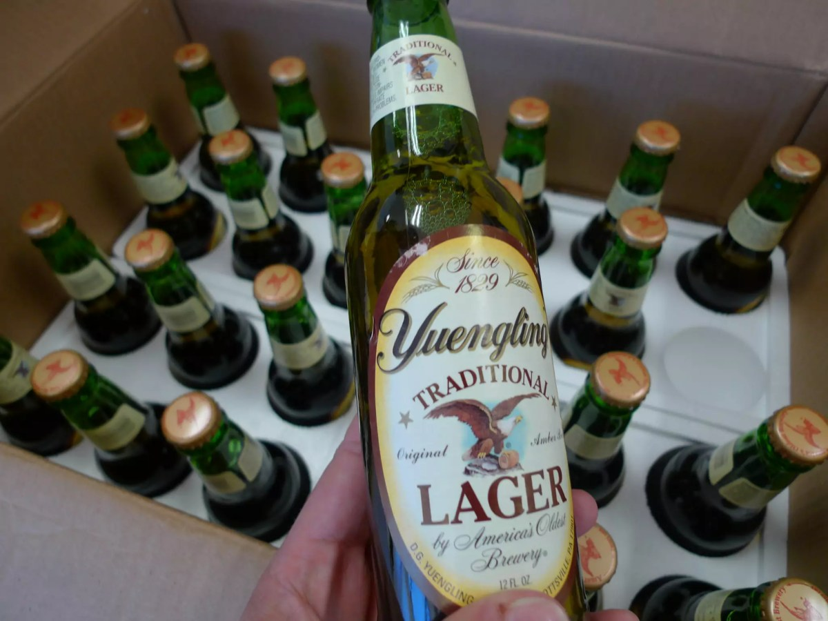 Anthony Bourdain Philadelphia - Yuengling - photo by Andrew Mager under CC BY-SA 2.0