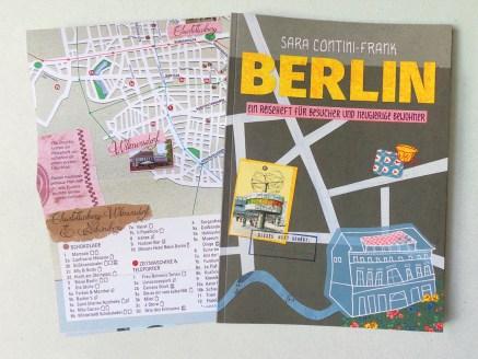 Stadtillustration: Illustrierter Berlin-Reiseführer für Besucher und Bewohner mit beigelegtem Faltplan