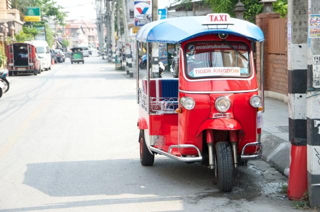 Tuk Tuk em Chiang Mai