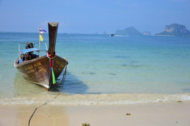 Praia em Koh Tao