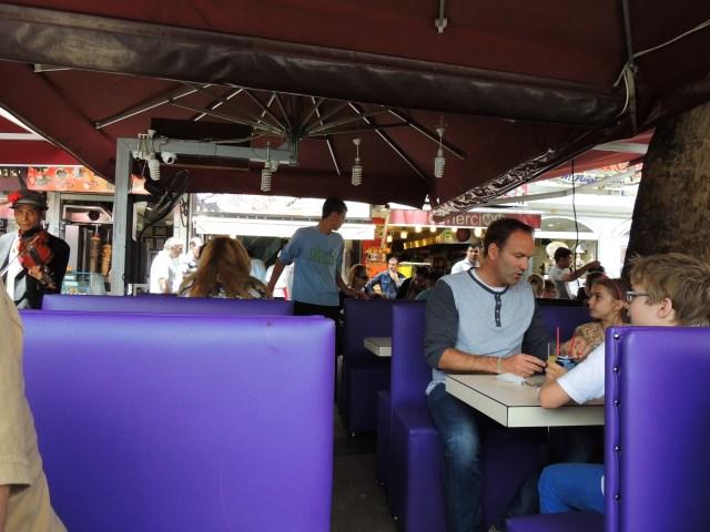 Restaurante típico de kebabs