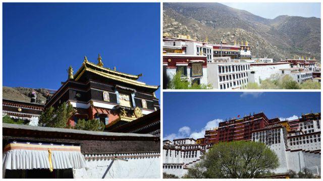 Palácios e Templos em Lhasa