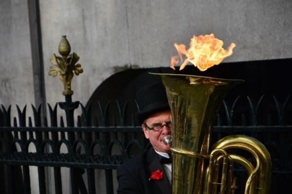 músico rua londres