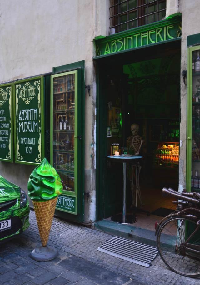 Bar em Praga