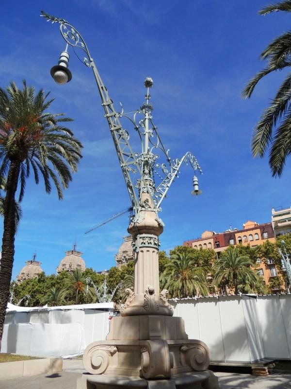 Suposto poste de Gaudí, rs