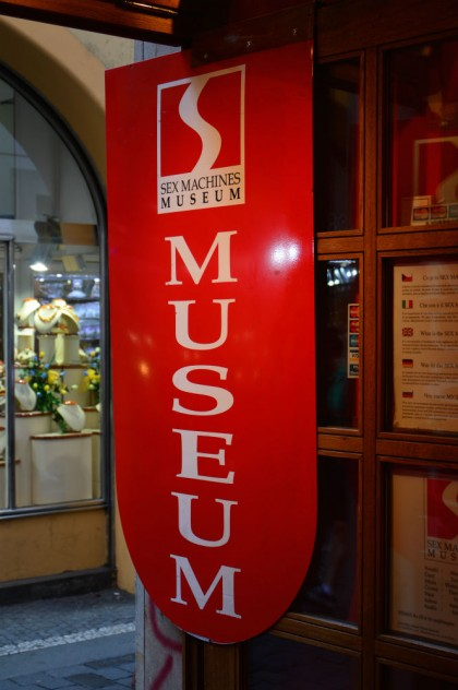 Entrada Museu do Sexo