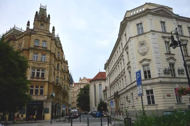Ruas do bairro judeu Praga