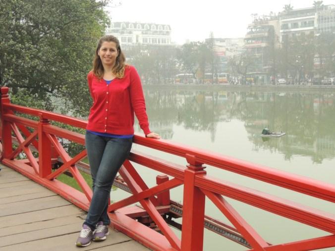 O clima estava péssimo em Hanoi, logo no nosso segundo destino