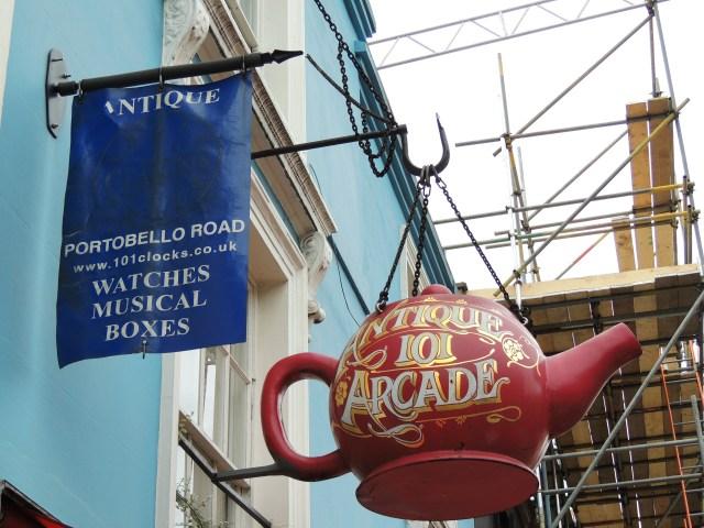 Notting Hill e Portobello Road, Londres