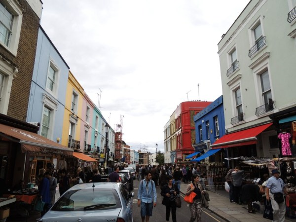 Notting Hill e Portobello Road, Londres