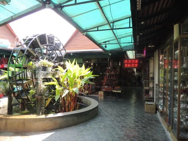 Siem Reap, lojinhas e pequenos shoppings de artesanato