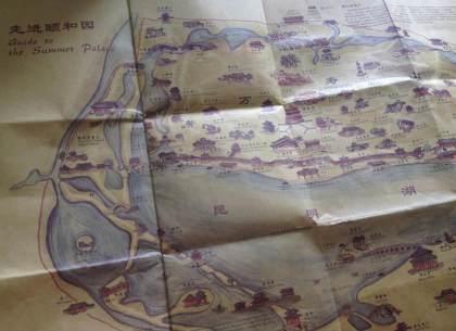 Mapa Summer Palace