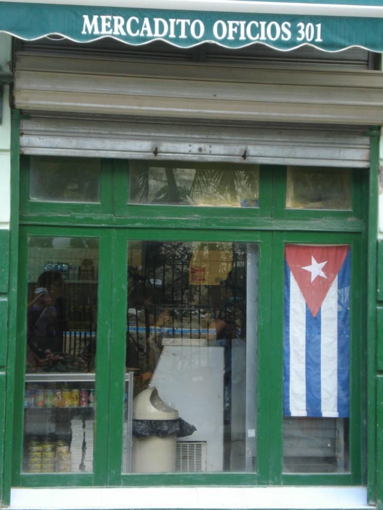 Mercado popular Havana