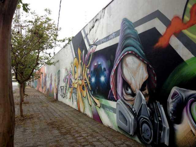 Arte de rua em Curitiba