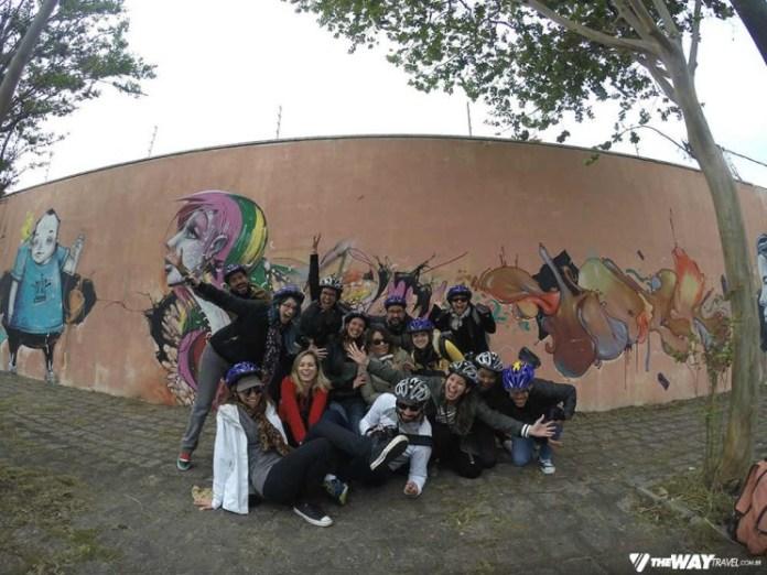 Blogueiros no Arte Bike Tour Curitiba