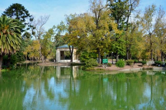 Parque Rodó lago