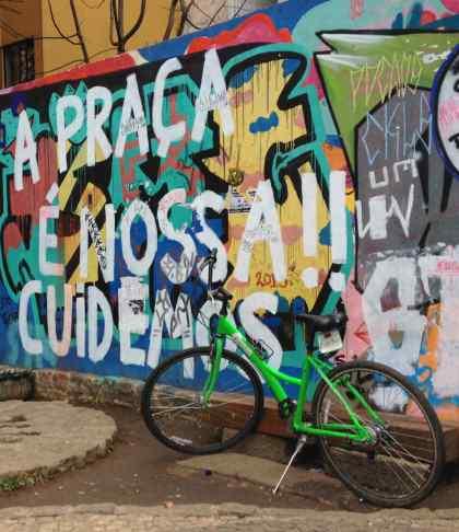 Praça do ciclista Curitiba