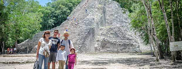 Ideal Mexican destination to start a spectacular Yucatan trip Coba tour