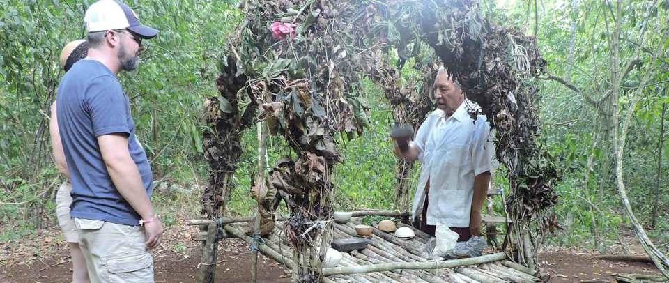 jungle expedition spider mayan ritual