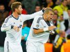 Σέρχιο Ράμος και Πέπε σε αγώνα της Ρεάλ με την Μπορούσια Ντόρτμουντ για τους ομίλους του Champions League (6/11/2012).