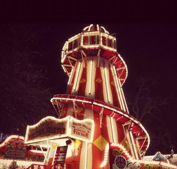 Hire  Book Helter Skelter  Fairground Rides  Contraband Events