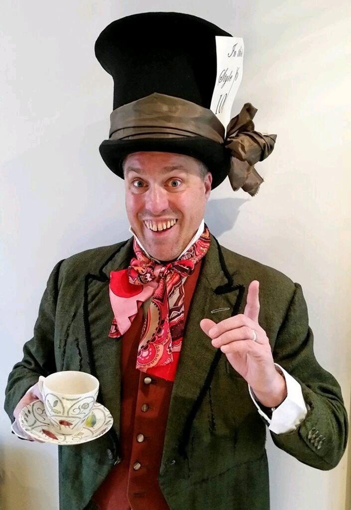 Booking Agent For Mad Hatter Walkabout Character