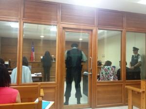 Formalizacion robo con homicidio a profesor en Valdivia