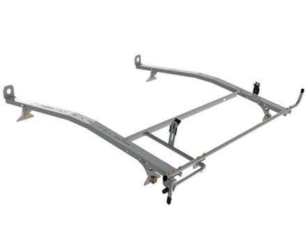 van rack driver side clamp lock mechanism