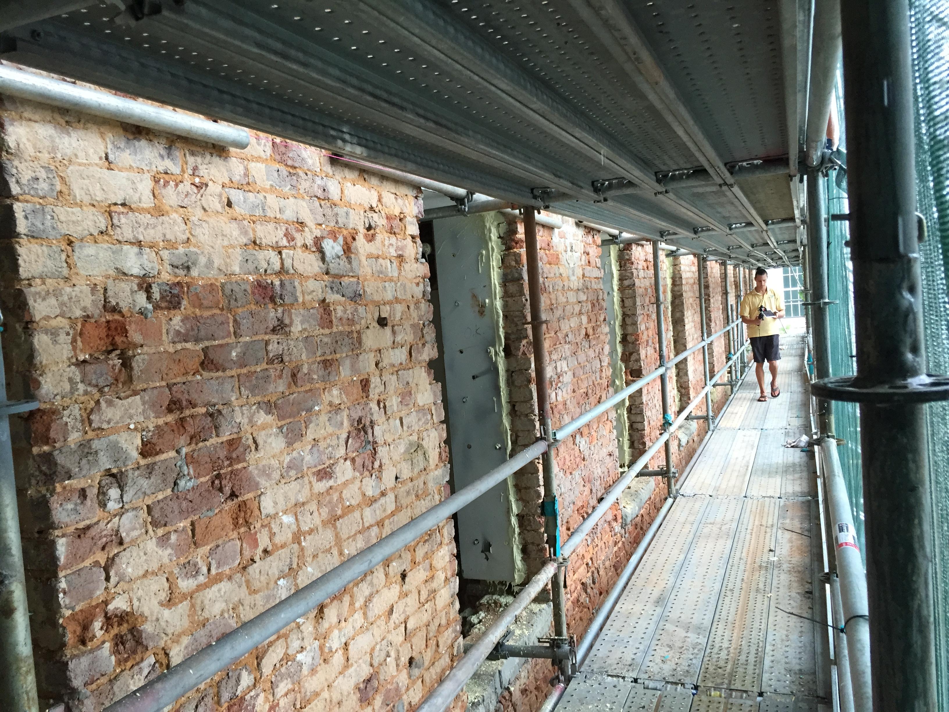 Bryce Scaffold Wall Shoring 1