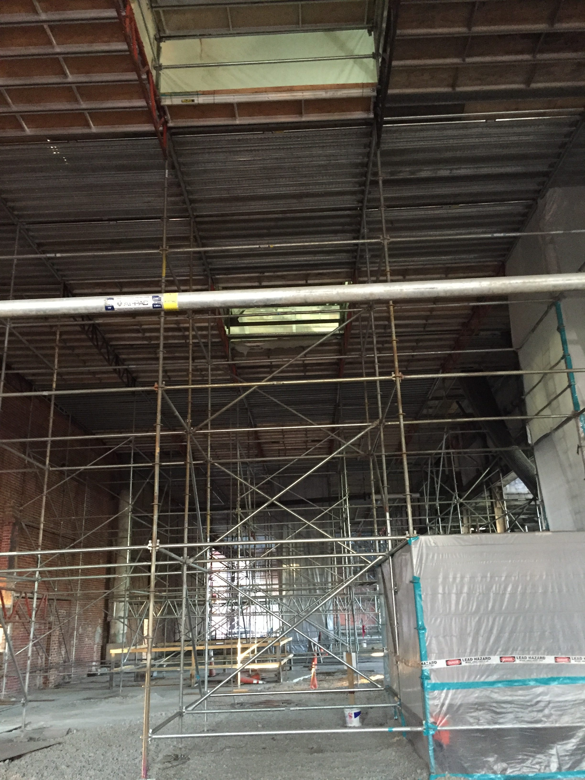 Powell Ave Scaffold
