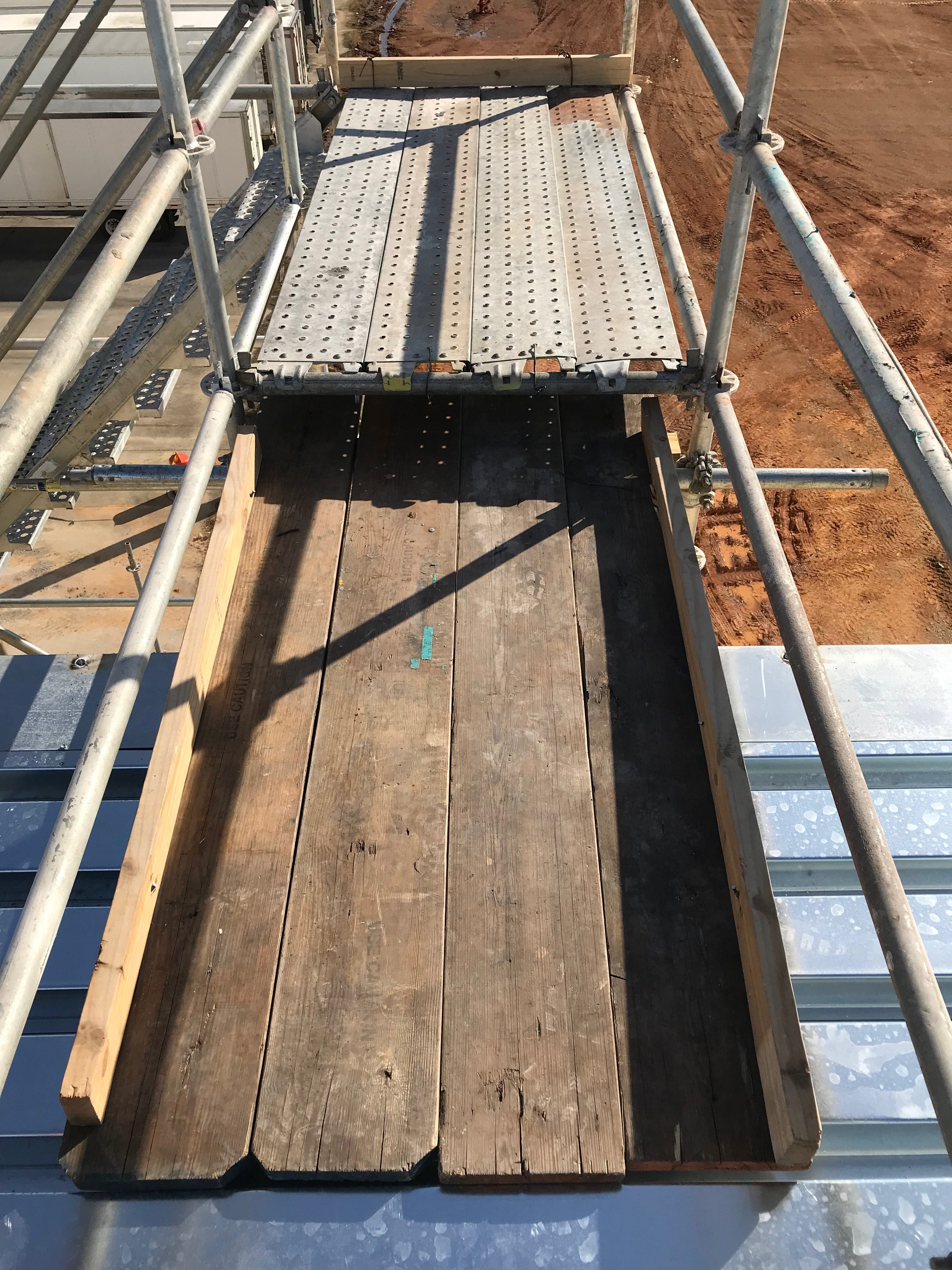 Plant scaffold stair tower 3