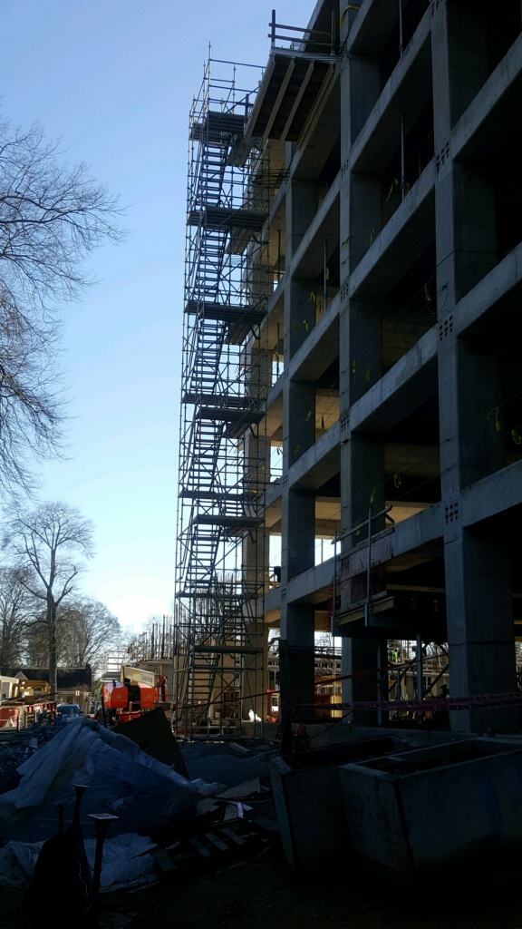 Tutwiller Parking Garage Scaffold 4