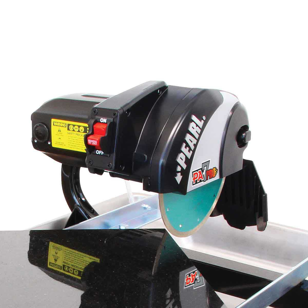 """Pearl Abrasive Pa7pro 7"""" Professional Tile And Stand"""