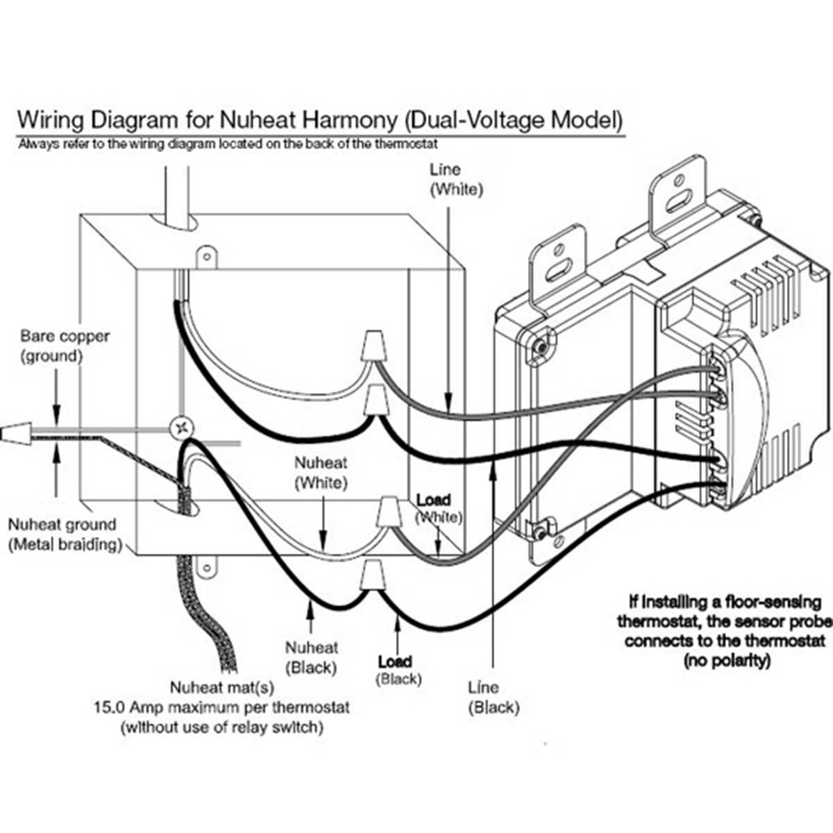 nuheat floor heating manual pictures [ 1200 x 1200 Pixel ]
