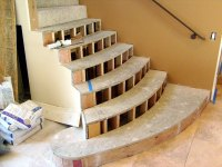 Hickory Stair Treads - Flooring - Contractor Talk