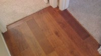 Hardwood Transition - Flooring - Contractor Talk