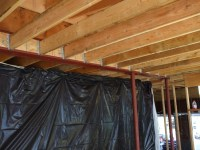Attaching 2x6 Ceiling Joists To Steel Beam, Web Blocking ...