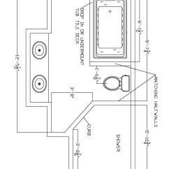Bathroom Plumbing Diagram Concrete Slab Nissan 350z Headlight Wiring Sink Dreamy Person Lovely