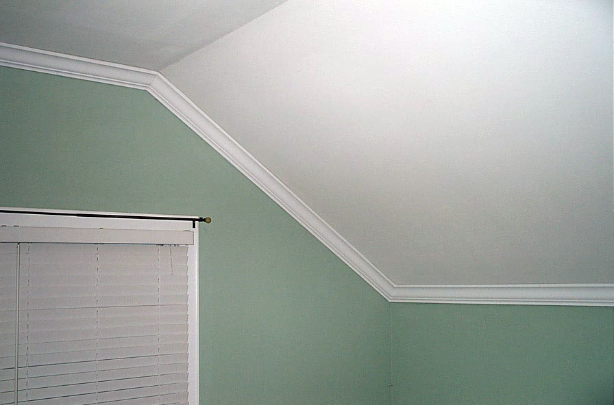 Crown Molding On Cathedral Ceilings Photos