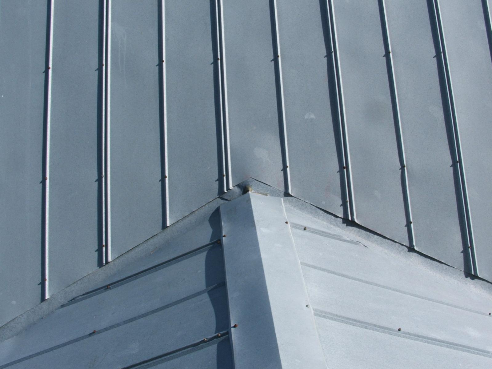 Slanting The Rain Diverter Hutchins Roofing Sheet Metal Co Job Photos Roofs    Rain Diverter