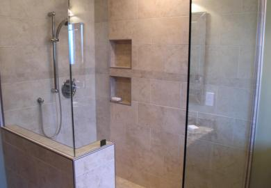 Shower Half Glass Doors
