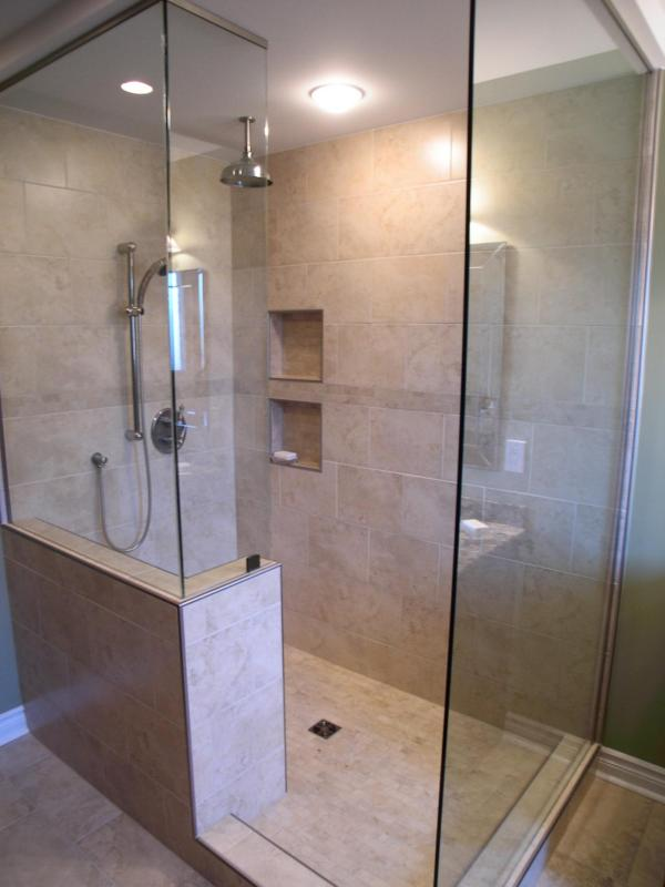 Bathroom with Walk-In Showers Ideas