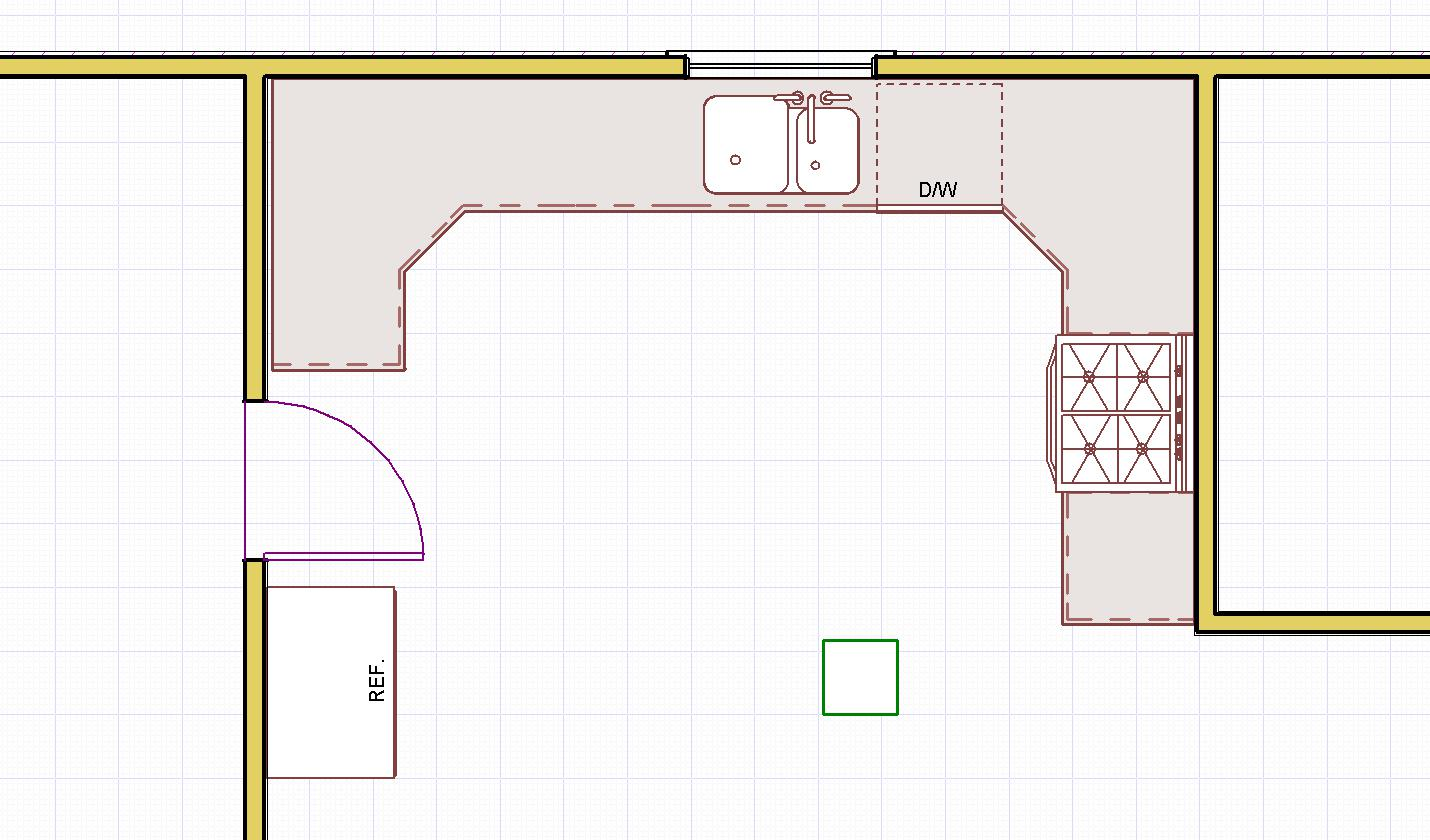 kitchen design layouts remodel cost u shaped layout ideas decorating