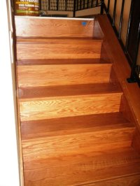 How I Install (refacing) Solid Wood Stairs - Flooring ...